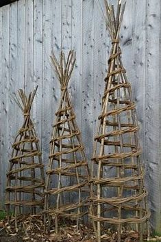 Welcome To Hedge And Hazel Obelisks Willow Work Rustic