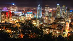 2020 Montreal City View at Night From Mount Royal Lookout Stock Image Royalty Free Pictures, Royalty Free Stock Photos, Stock Imagery, Pixel Image, Image Categories, Us Images, Image Photography, Montreal, Travel Destinations