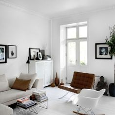 Have you ever tried to put together a style board for your dream home? This is my attempt! (image by Birgitta Drejer)