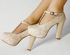 lace wedding shoes, $26.99