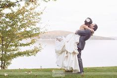 Here are a few of our favorite pictures from a recent outdoor wedding at Church's Landing on Lake Winnipesaukee in Meredith, NH during Autumn!