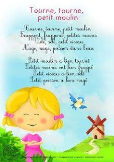 Discover design inspiration from a variety of living rooms French Poems, French Kids, French Education, French Language Learning, Teaching French, Kids Songs, Learn French, Nursery Rhymes, Kids And Parenting