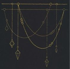 Talisman - Jeweled Drape_image