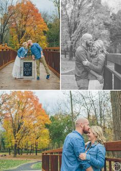 fall engagement session / siue gardens, st louis wedding photographers