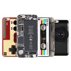 Retro Soft TPU Game Boy Camera Cassette Machine Cartoon Painted Cover For iPhone 5 5s SE 6 6s plus Phone Cases SMS - Aliexpress