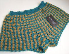 Shorts de verano de crochet crochet el por LecrochetArt en Etsy