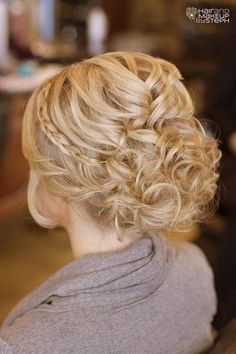 bridesmaid hair style beautiful hair 2364