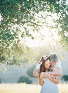 Santa Barbara Engagement Shoot Among the Lavender and Oak Trees: http://www.stylemepretty.com/2014/09/08/santa-barbara-engagement-shoot-among-the-lavender-and-oak-trees/ | Photography: Jen Huang - http://jenhuangphoto.com/