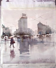 Dusan Djukaric It's not bad to spend a couple of minutes on the sketch even if you don't feel like painting ....