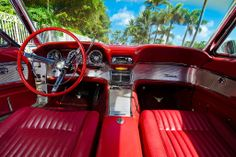 1961 thunderbird | 1961 Ford Thunderbird convertible interior | eBay Motors Blog
