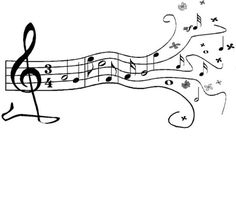 music stencils to print free   ... Musical Notes image - vector clip art online, royalty free & public