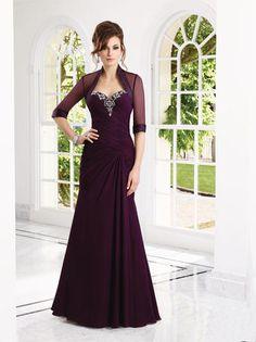 VM Collection - 70902 in eggplant, black and royal blue at Estelle's Dressy Dresses! #estellesdressydresses #motherofthebride #vmcollection