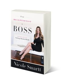 From Receptionist to Boss: Real-Life Advice for Getting Ahead at Work provides real-life steps to take control of your career and climb the ladder to success. It describes author, Nicole Smartt's journey of going from receptionist to business owner in less than 7 years.