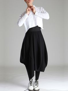 KNITTED SKIRT - JACKETS, JUMPSUITS, DRESSES, TROUSERS, SKIRTS, JERSEY, KNITWEAR, ACCESORIES - Woman -