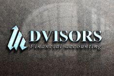 Advisors Logo Design - Brannet Market Professional Logo Design, Coreldraw, Business Logo, High Quality Images, Lettering, Logos, Logo, Drawing Letters, Brush Lettering