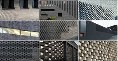 Gallery of 12 Dynamic Buildings in South Korea Pushing the Brick Envelope - 1 Brick Architecture, Brick Facade, Brick Patterns, Brickwork, Green Materials, Architect Design, Cladding, South Korea, House Plans