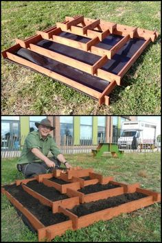 How To Make A Slot Together Pyramid Planter   Pyramid planters are great for growing various plants especially if you don't have a lot of space in your garden or yard.  It's very easy and cheap to make as it's made from recycled pallet timbers. All you ne