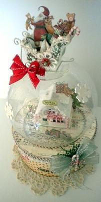 Santa's Workshop (A Do-it-Yourself Snow Globe)