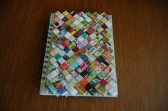 Upcycled Magazine Journal by RedDeb on Etsy, $7.50