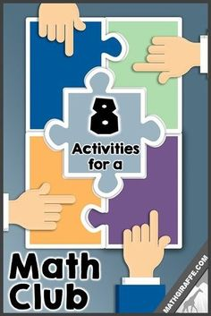 Math club for elementary or middle school students middle school activities for a math club moderator to share with math team students fandeluxe Gallery