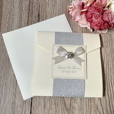 Excited to share this item from my shop: Handmade Wedding Invitations, Luxury pocketfold invite with glitter and embellishment Invitation Examples, Pocketfold Invitations, Handmade Wedding Invitations, Letterpress Wedding Invitations, Printable Wedding Invitations, Personalized Wedding, Wedding Stationery, Invitation Cards, Invite