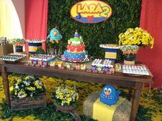 80 Ideias para Festa Galinha Pintadinha » Gemelares