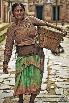 Nepali Woman by Nepal Photogallery, via 500px