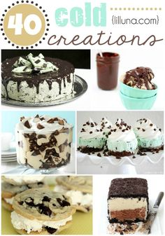 40 Cold Creations an