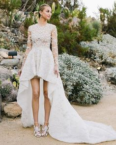 And the Bride Wore…High-Profile Wedding Dresses of 2015