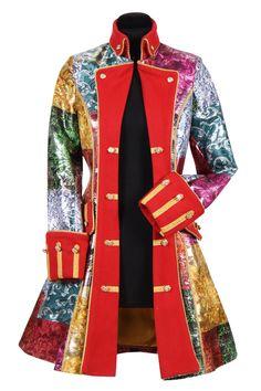 Patchwork exclusief dames - Colberts,jasjes,mantels - Dames kleding - Feestkleding