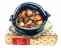 Watercolour Illustrations - Holly Exley Illustrator: Food Illustration for Reader's Digest