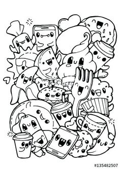 Kawaii Food Coloring Pages Luxury The Cartoon Sea Animals Are So Fun For., Awesome Kawaii Food Coloring Pages Luxury The Cartoon Sea Animals Are So Fun For., Awesome Kawaii Food Coloring Pages Luxury The Cartoon Sea Animals Are So Fun For. Cupcake Coloring Pages, Food Coloring Pages, Coloring Pages For Girls, Disney Coloring Pages, Animal Coloring Pages, Coloring For Kids, Coloring Books, Coloring Sheets, Printable Coloring