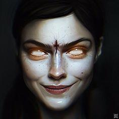 portrait, Julia Razumova on ArtStation at https://www.artstation.com/artwork/r5N66