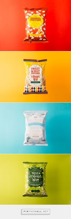 Peacock Popcorn on Behance - created via https://pinthemall.net
