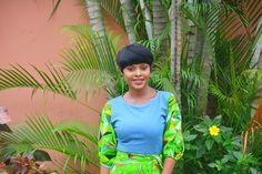 ankara, africanprint, Nigeria, Lagos, Blogger, shorthair, Collaboration