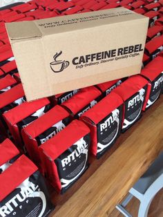 Why settle for ordinary coffee when you can get the best coffee on the planet delivered with a Caffeine Rebel monthly coffee subscription. Caffeine Rebel coffee club members receive a monthly coffee box containing 1 to 3 12oz bags of fresh roasted specialty coffee, reviewed and selected from over 50 coffees each month.