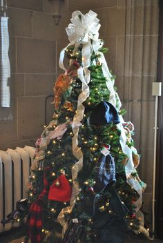 Annual Mitten Tree - donations go to Three Oaks Foundation & Adopt-a-Child