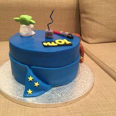 Starwars Cake Back