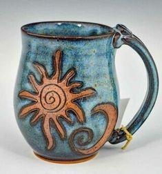 Slab Pottery, Pottery Mugs, Ceramic Pottery, Pottery Art, Pottery Painting, Thrown Pottery, Pottery Studio, Ceramic Cups, Ceramic Art