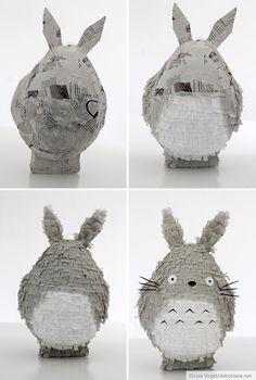 Totoro Piñata - Handmade Kultur
