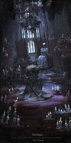 Bloodborne is an Action RPG from renowned Japanese developer FromSoftware, makers of the critically acclaimed Dark Souls series. Dark Fantasy Art, Fantasy Artwork, Dark Art, Fantasy Places, Fantasy World, Art And Illustration, Art Illustrations, Arte Dark Souls, Arte Game Of Thrones
