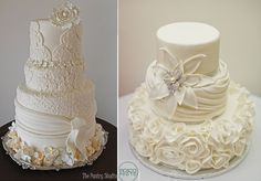 Wedding Cakes 2014 Lace Especially in wedding cake