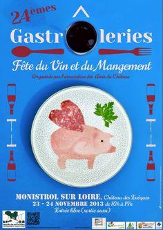 Les gâstroleries 23 et 24 novembre 2013 à Monistrol-sur-Loire #marchesduvelay #hauteloire