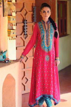 Asianz Attire Stylish Ready for Eid 2012 Collection India Fashion, Asian Fashion, Pakistan Fashion, Women's Fashion, Pakistani Outfits, Indian Outfits, Formal Wear Women, Ladies Wear, Desi Clothes