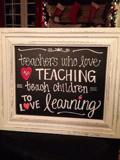 Teacher appreciation?