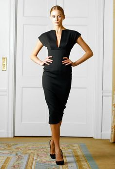 Victoria Beckham Clothing | The dress is so sexy, it shapes the figure and makes a very femi ...