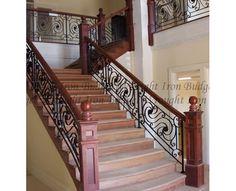 wrought iron staircase