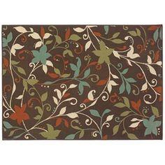 Oriental Weavers Montego Floral Indoor Outdoor Rug