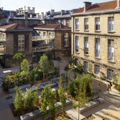 Leyteire Square by Debarre Duplantiers Associés, France.