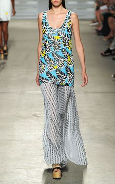 Thakoon Spring/Summer 2015 Trunkshow Look 13 on Moda Operandi